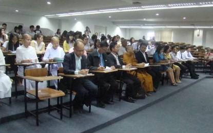 การสัมมนาวิชาการ เรื่อง การเรียนการสอนพุทธศาสนาในโรงเรียนประถมและมัธยม ณ มหาวิทยาลัยราชภัฏนครราชสีมา