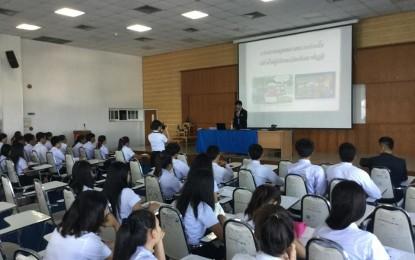 โปรแกรมวิชาปรัชญาฯ จัดโครงการ การสอนพระพุทธศาสนาอย่างไรเพื่อให้ผู้เรียนเกิดสัมมาทิฏฐิ