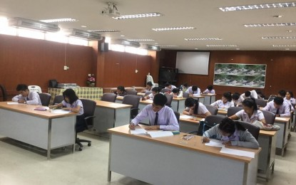 มหาวิทยาลัยราชภัฏนครราชสีมาจัดสอบธรรมสนามหลวงประจำปี 2558