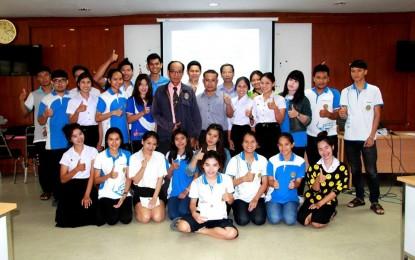 โปรแกรมวิชาปรัชญา ศาสนาและเทววิทยา ได้จัดโครงการอบรมเสริมความรู้ทักษะการใช้ภาษาอังกฤษ สำหรับนักศึกษาสาขาวิชาพุทธศาสนศึกษา ชั้นปีที่ 3