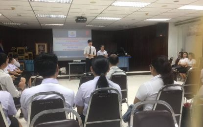 บทบาทนักศึกษากับการประกันคุณภาพการศึกษา สำหรับนักศึกษาหลักสูตรครุศาสตรบัณฑิต สาขาวิชาพุทธศาสนศึกษา ประจำปี 2560