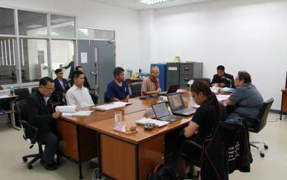 การตรวจประเมินฯ ระดับหลักสูตร ประจำปีการศึกษา 2559 หลักสูตรครุศาสตรบัณฑิต สาขาวิชาพุทธศาสนศึกษา