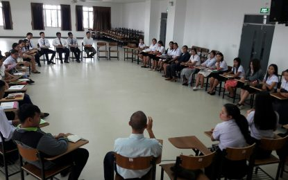 กำหนดจัดสัมมนา นักศึกษาฝึกประสบการณ์สอนวิชาชีพครู ชั้นปีที่ 5 เทอม 1/2560 หลักสูตรครุศาสตรบัณฑิต สาขาวิชาพุทธศาสนศึกษา ครั้งที่ 2 วันที่ 8 กันยายน 2560