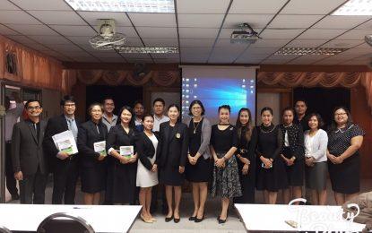 คณาจารย์หลักสูตรครุศาสตรบัณฑิต สาขาวิชาพุทธศาสนศึกษาร่วมประชุมเพื่อนำเสนอบทความทางวิชาการและนำเสนอผลงานวิจัยระดับชาติ