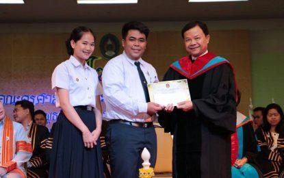 นักศึกษาชั้นปีที่ 1 พุทธศาสนศึกษา คว้ารางวัลชนะเลิศการประกวดพานไหว้ครู ประเภทสวยงาม