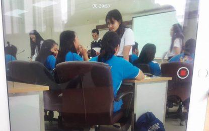 กิจกรรมพี่สอนน้อง พี่ปี 4 ชี้แนะน้องปี 1  ก่อนสอบธรรมศึกษา ประจำปี 2560