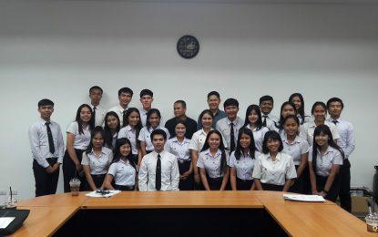 กำหนดสัมมนา ครั้งที่ 1 นักศึกษาฝึกประสบการณ์สอนวิชาชีพครู ชั้นปีที่ 5 ประจำภาคการศึกษาที่ 2/2561 วันศุกร์ที่ 21 ธันวาคม 2561