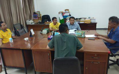 ประชุมร่วมระหว่างหลักสูตรครุศาสตรบัณฑิต สาขาวิชาพุทธศาสนศึกษากับองค์การบริหารส่วนตำบลหนองพลวง