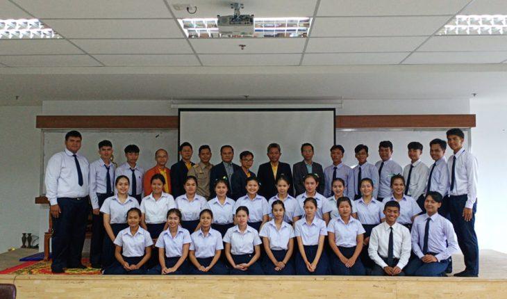 กิจกรรมปฐมนิเทศนักศึกษาใหม่ รุ่นที่ 8 หลักสูตรครุศาสตรบัณฑิต สาขาวิชาพุทธศาสนศึกษา ประจำปี 2562