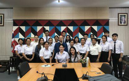สัมมนา ครั้งที่ 1 นักศึกษาฝึกประสบการณ์สอนวิชาชีพครู ชั้นปีที่ 5 ประจำภาคการศึกษาที่ 2/2562 วันศุกร์ที่ 20 ธันวาคม 2562