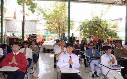 คณาจารย์และนักศึกษาสาขาวิชาพุทธศาสนศึกษาเข้าสอบบาลีศึกษา ประจำปี 2563